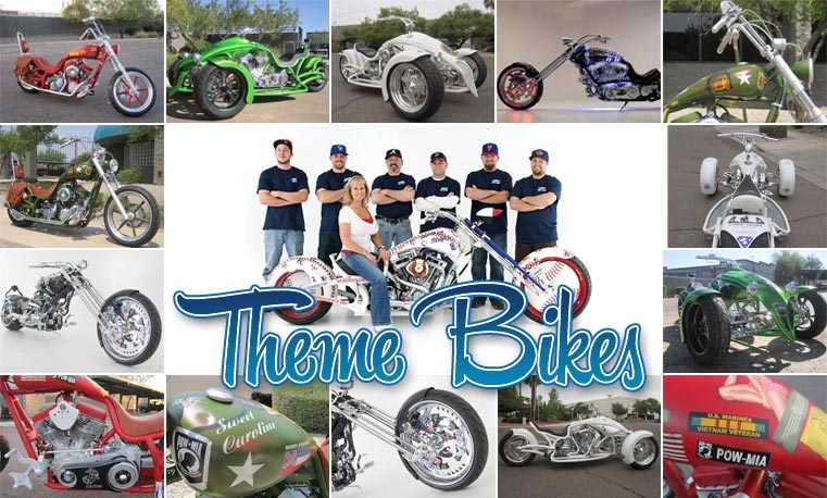 Bourget Theme Bikes